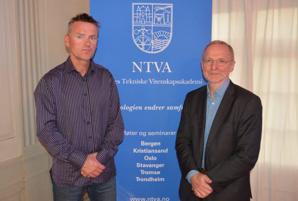 Trygve Brautaset (til v.) og Trygve Omholt