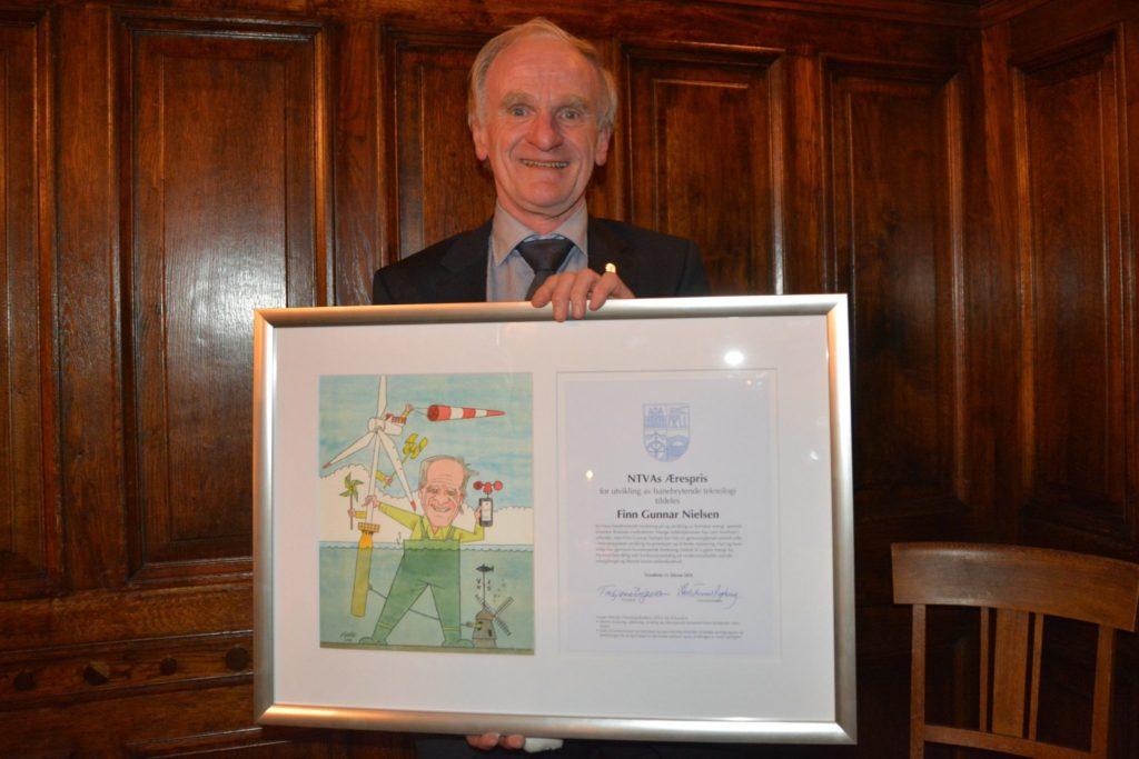 Finn Gunnar Nielsen mottok NTVAs ærespris for fremragende teknisk forskning
