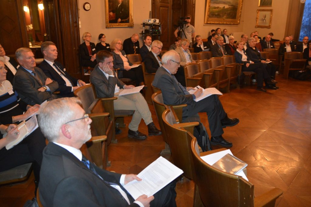 Publikum på Industrielle råds årsmøte