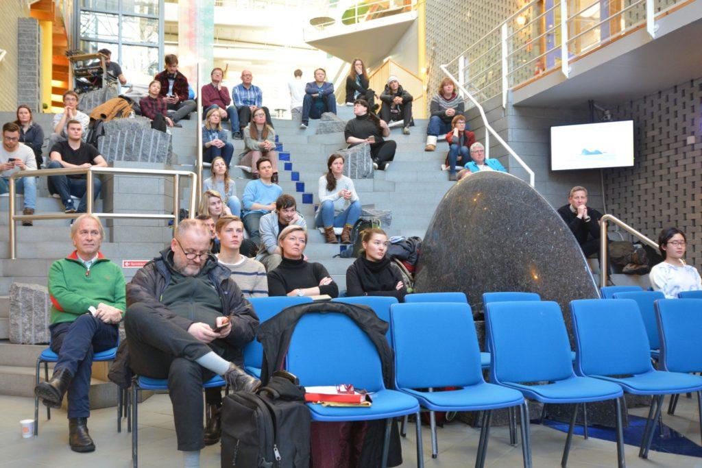 Publikum på seminaret på UiT Campus