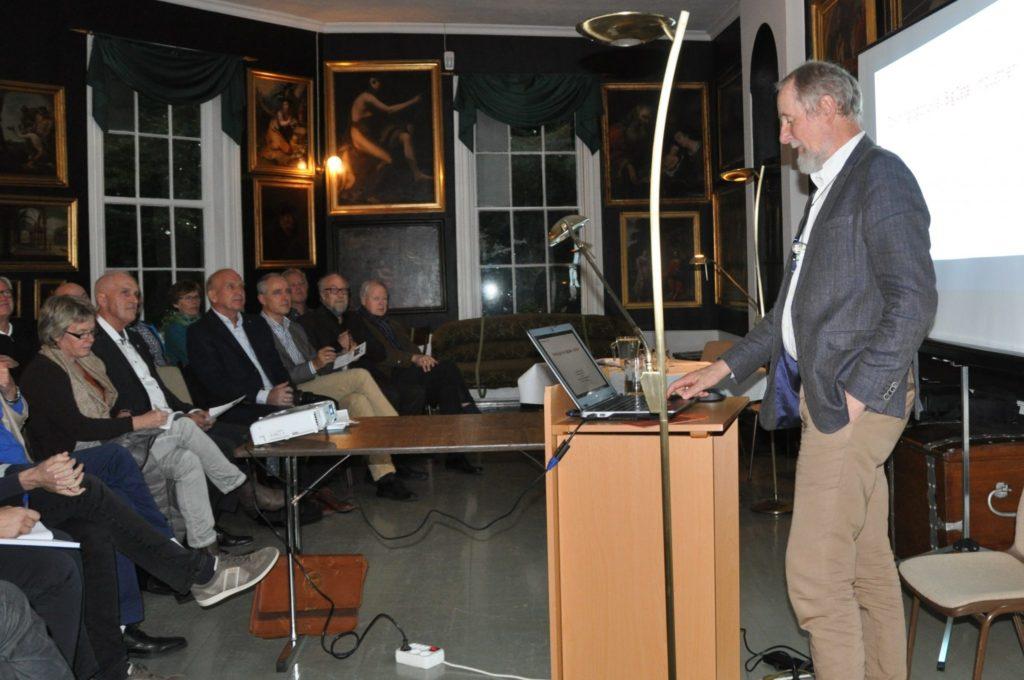 Harald Martens holdt hovedforedraget