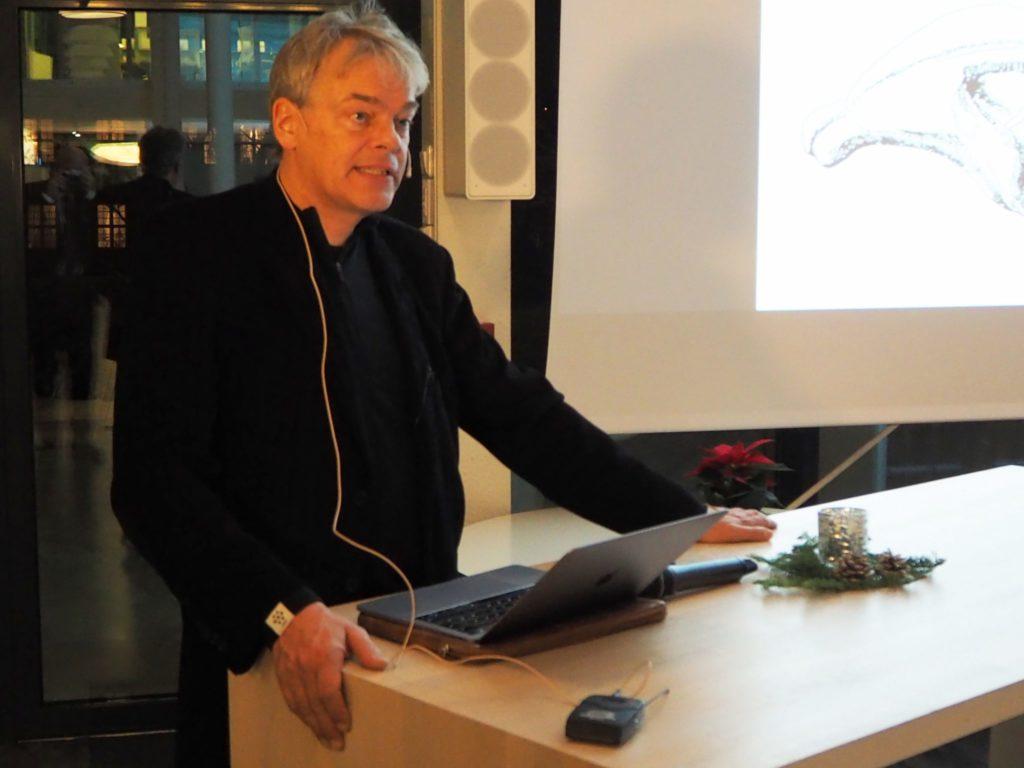 Foredragsholder Edvard Moser