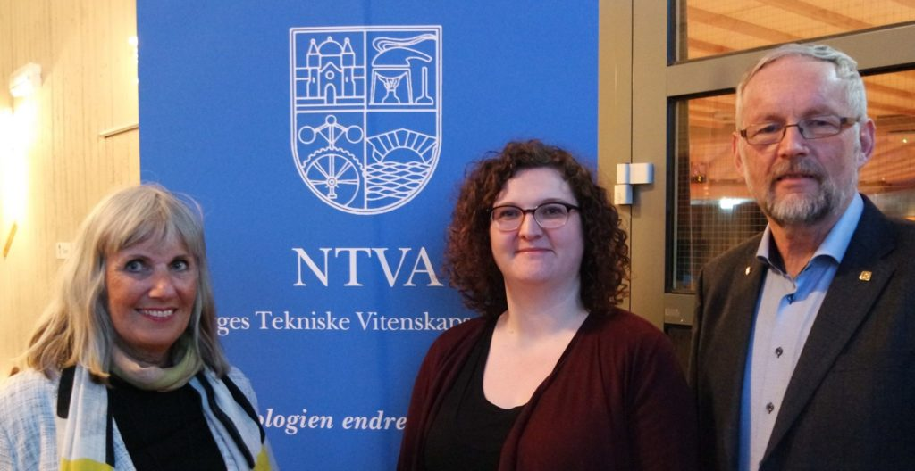 Fra venstre; Anne Skare, Daniella Müller-Eie og Ivar Langen.