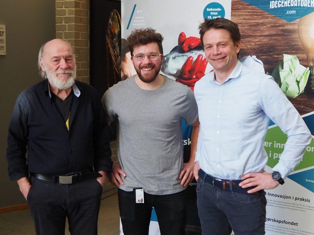 3 av 4 foredragsholdere ved Finnfjords-seminaret fra venstre; Hans Chr. Eilertsen, Lars Dalheim og Geir Henning Wintervoll