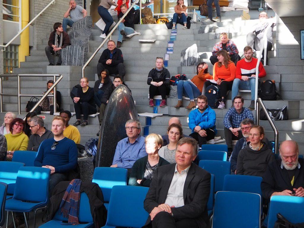 Det var nærmere 50 tilhørere til seminaret på Norges Fiskerihøgskole