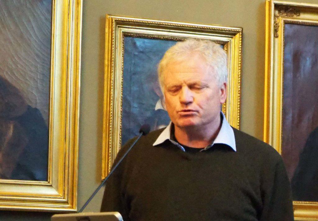 Prorektor ved NTNU Johan Hustad