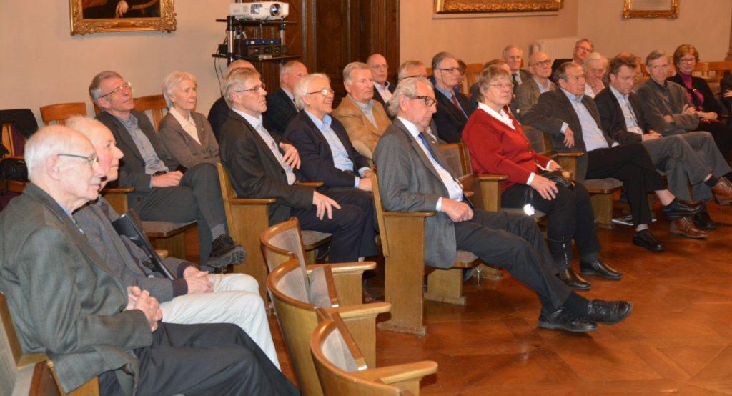 Det var over 30 deltagere på møtet.