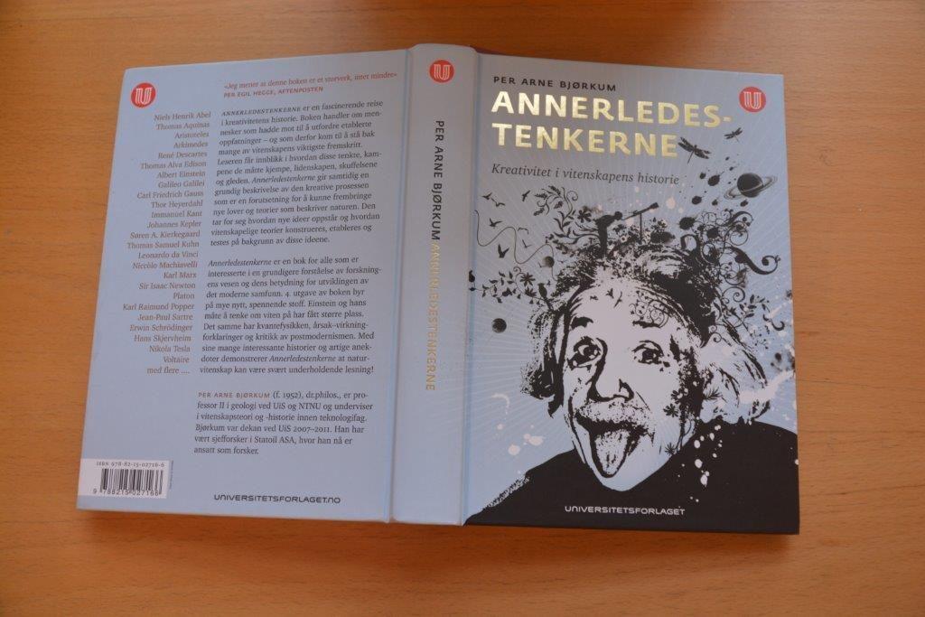 """Den fjerde utgaven av boken """"Annerledestenkerne"""" av Per Arne Bjørkum"""
