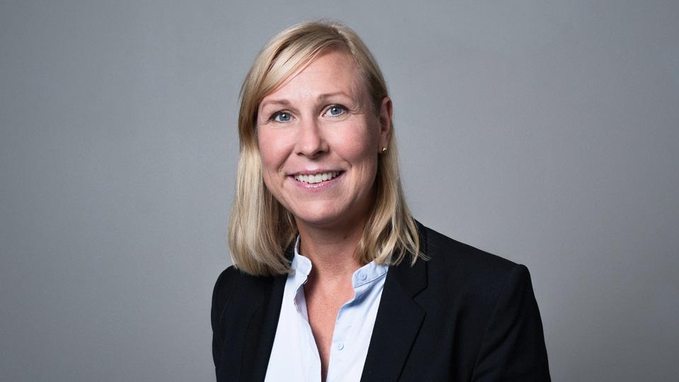 Camilla Koebe, kommunikasjonssjef og ansvarlig for næringslivsrådet.